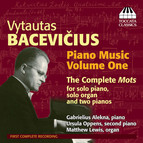 Bacevicius: Piano Music, Vol. 1