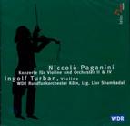 Paganini: Konzerte für Violine und Orchester 2 & 4
