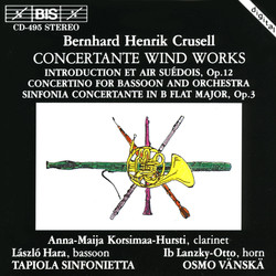 Crusell - Concertante Wind Works