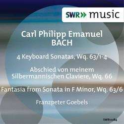 C.P.E. Bach: 4 Keyboard Sonatas, Wq. 63/1-4