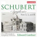 Schubert: Symphonies, Vol. 1 – Nos. 3, 5 & 8