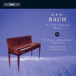 C.P.E. Bach - Solo Keyboard Music, Vol.34