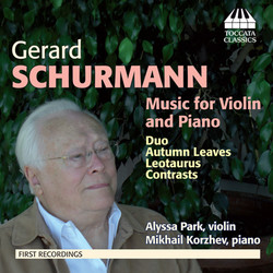 Schurmann: Music for Violin & Piano