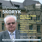 Skoryk: Music for Violin and Piano