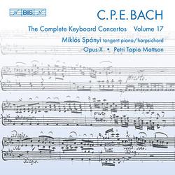 C.P.E. Bach - Keyboard Concertos, Vol.17