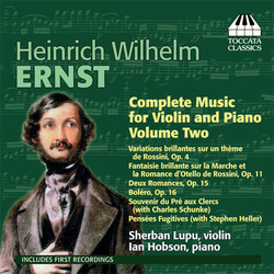 Ernst: Complete Music for Violin and Piano, Vol. 2