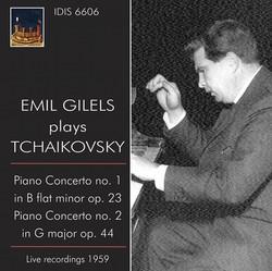 Emil Gilels Plays Tchaikovsky (1959)