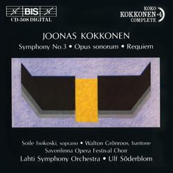 Kokkonen - Symphony No.3