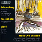 Organ music by Schoenberg and Ligeti