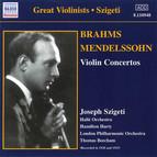 Brahms / Mendelssohn: Violin Concertos (Szigeti) (1928, 1933)