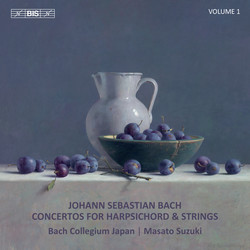 J.S. Bach - Concertos for Harpsichord, Vol. 1