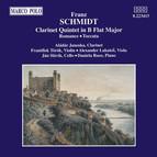 Schmidt: Clarinet Quintet in B Flat Major / Romance