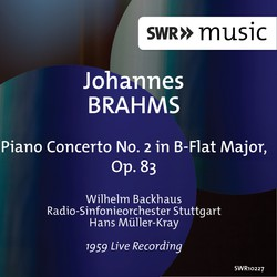 Brahms: Piano Concerto No. 2 in B-Flat Major, Op. 83 (Live)