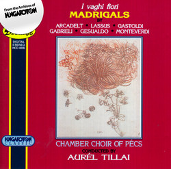 Italian Madrigals From The 16th Century