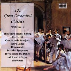 101 Great Orchestral Classics, Vol.  5