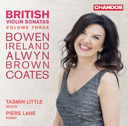British Violin Sonatas, Vol. 3