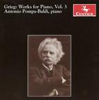 Grieg, E.: Piano Music, Vol. 3