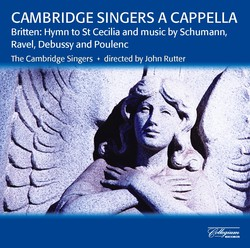 Cambridge Singers A Cappella