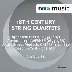 Beecke, Werner, Grétry & Haydn: String Quartets