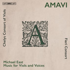 Amavi - music for viols and voices by Michael East
