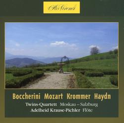 Boccherini, Mozart, Krommer, Haydn: Twins -Quartett Moskau-Salzburg