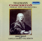 Telemann: Concertos for Violin and Orchestra