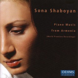Shaboyan, Sona: Piano Music From Armenia