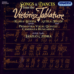 Vietorisz Tabulature - Songs And Dances