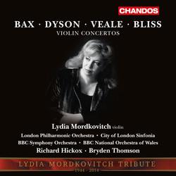 Bax, Dyson, Veale & Bliss: Violin Concertos