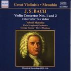 Bach, J.S.: Violin Concertos Nos. 1 and 2  (Menuhin) (1932-1936)