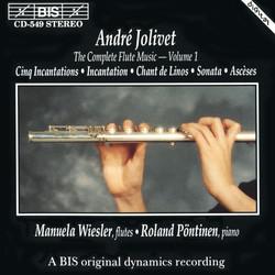 Jolivet - Flute Music, Vol.1