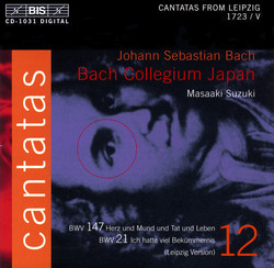 J.S. Bach - Cantatas, Vol.12 (BWV 147, 21)