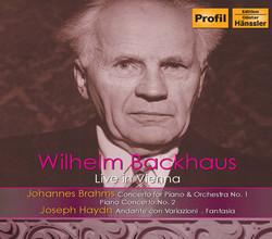 Wilhelm Backhaus Live in Vienna