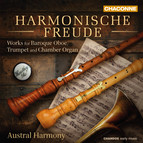 Harmonische Freude: Works for Baroque Oboe, Trumpet & Chamber Organ