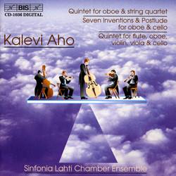 Aho - Oboe Quintet