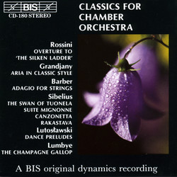Classics for Chamber Orchestra, Vol.1