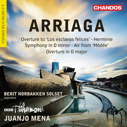 Arriaga: Overtures, Herminie & Other Works