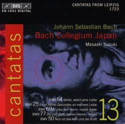 J.S. Bach - Cantatas, Vol.13 (BWV 64, 25, 69a, 77, 50)