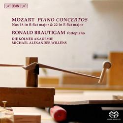 Mozart – Piano Concertos Nos 18 & 22