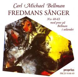 Bellman: Fredmans sånger, Nos. 40-65, Vols. 3-4