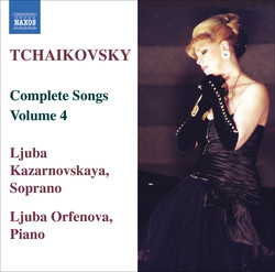 Tchaikovsky: Songs (Complete), Vol.  4