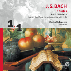 J.S. Bach: 6 Suites BWV 1007-1012 transcribed for recorder