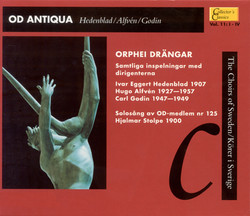 Od Antiqua (Collector's Classics, Vol. 11 - The Choirs of Sweden)