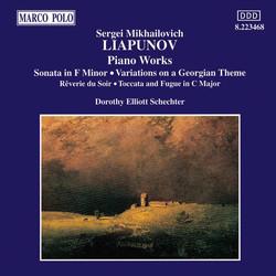 Liapunov: Piano Works