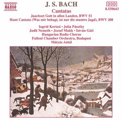 Bach, J.S.: Cantatas, Bwv 51 and 208