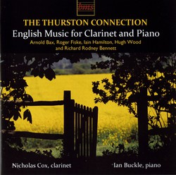 The Thurston Connection – English Music for Clarinet and Piano