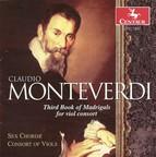 Monteverdi, C.: Madrigals for Viol Consort, Book 3 (Sex Chordae Consort of Viols, Dorenburg)
