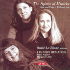 The Spirite Of Musicke - Songs by Coperario, Hume, Jenkins, and Ferrabosco Ii
