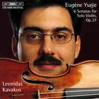6 Sonatas for Solo Violin, Op.27