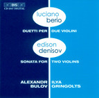 Berio and Denisov - Music for two violins